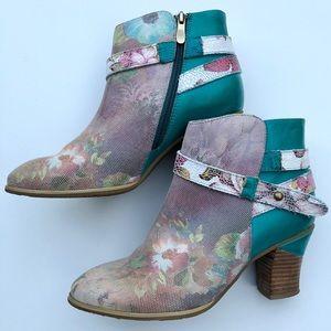 L'Artiste Spring Steps 39 8.5 bootie boots Gaviva